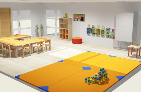 hermex wesco mobiliario escolar infantil equipamiento