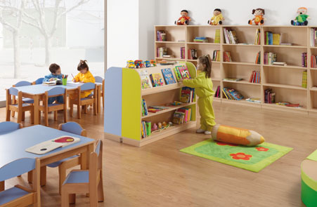 Hermex wesco mobiliario escolar infantil equipamiento for Muebles para guarderia