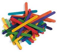 Bastoncillos colores surtidos aprox. 1000