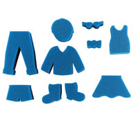Esponjas gigantes personajes lote de 23