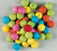 100 bolas de colores de celulosa aprox. 100
