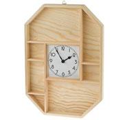 Reloj de pared con mecanismo de cuarzo