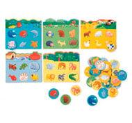 Primer bingo de los animales el juego