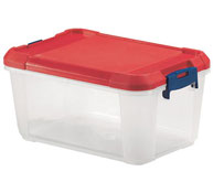 Caja almacenamiento con tapa (f) 9 l. la unidad