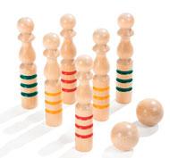 Bolos de madera el conjunto