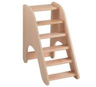 Escalera de madera para cambiador