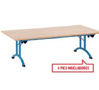 Mesa plegable medit. 120 x 80 t1