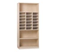 Maxi armario 1 estantes y 18 casillas