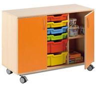 Mueble alfa nº1  2 puertas + 6 cubetas (según foto catalogo)