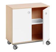 Mueble b. combi +ruedas 1 estant. puerta