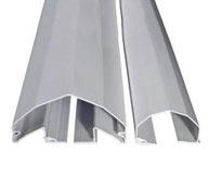 Antipinzamiento de dedos largo 229cm ángulo de abertura máximo 180º unidad