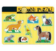 Puzzle de mascotas sonora