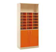 Maxi armario combi  2 puertas y 18 casillas con cerradura