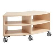 Mueble curvo pequeño