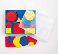 Bloques lógicos de plástico