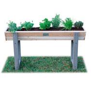 Mesa de cultivo jardinera