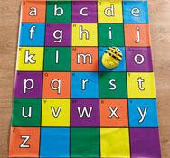 Alfombrilla alfabeto para bee-bot® y blue-bot Pack de 1 unidad