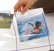 Alfombrilla transparente con cuadrícula para bee-bot® Pack de 1 unidad