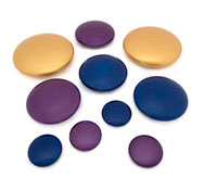 Colección de piedrecitas metálicas Pack de 10 unidades