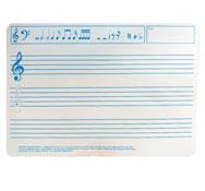 Pizarra individual para aula de musica