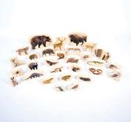 Animales salvajes 30 piezas