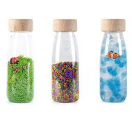 Botellas sensoriales eco pack 3 unidades
