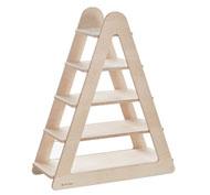 Estanteria triangulo de madera