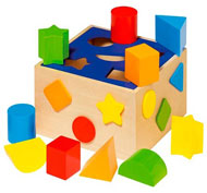 Caja de formas colors