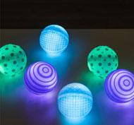 Bolas luminosas táctiles Pack de 6 unidades