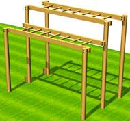 Escalera horizontal dobleps37b