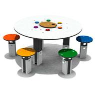 Mesa de los artistas para niños tabart4e