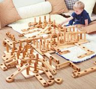 Apila y construye - bloques gigantes Pack de 28 unidades