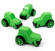 Camiones para hacer garabatos Pack de 4 unidades