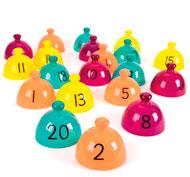 Cúpulas de clasificación para mesas de luz los números