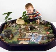 Alfombrilla mundo activo - safari