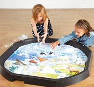 Alfombrilla mundo activo - ártico
