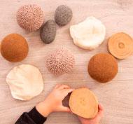 Colección sensorial natural set de 10 piezas