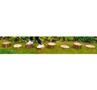 Camino de troncos set de 8