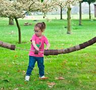 Juego gigante de enhebrar los troncos set de 20 piezas