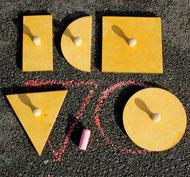 Plantillas de formas set de 5 piezas