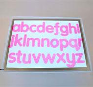 Alfabeto de trazado Set de 26 piezas