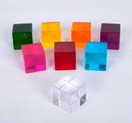 Cubos de percepción Set de 8 piezas