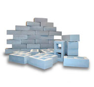 Bloques de construcción hormigón 40 piezas