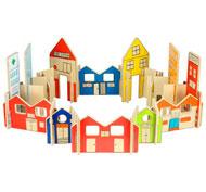 Construcción arquitectura ciudad pack de 36 piezas