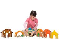 Construcción arquitectura los cuentos pack de 32 piezas
