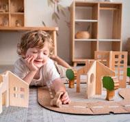 Construcción arquitectura moverse por la ciudad pack de 17 piezas