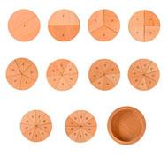 Puzzle aprendo las fracciones pack de 56 piezas