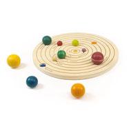 Encaje el sistema solar circular