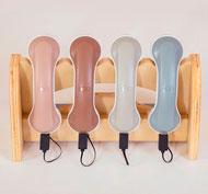 Teléfonos luminosos recargables set de 4 piezas