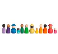 La diversidad Together nins set de 13 piezas